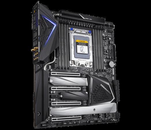 Gigabyte TRX40 DESIGNARE, TRX40, 8xDDR4 4400,8xSATA 6Gb/s, USB-C, TRX40 DESIGNARE