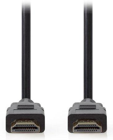 NEDIS Premium High Speed HDMI 2.0 kabel s ethernetem/ konektory HDMI - HDMI/ 4K@60Hz/ černý/ 5m