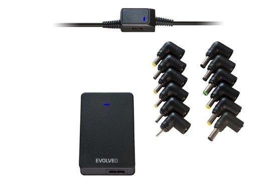 EVOLVEO Chargee B90, 90W univerzální napájecí zdroj pro notebooky, Chargee B90