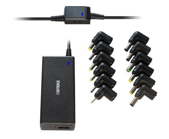 EVOLVEO Chargee A70, 70W univerzální napájecí zdroj pro notebooky, Chargee A70
