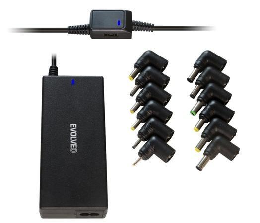 EVOLVEO Chargee A90, 90W univerzální napájecí zdroj pro notebooky, Chargee A90