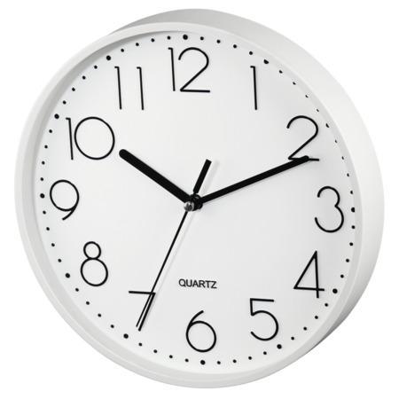 Hama PG-220, nástěnné hodiny, tichý chod, bílé