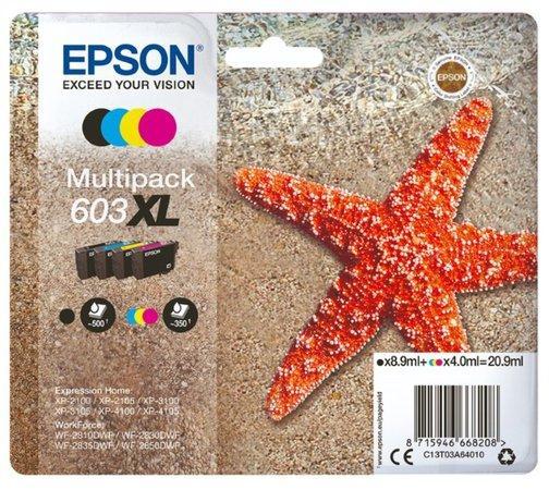 Inkoust Epson 603XL Multipack 4-colours, C13T03A64010