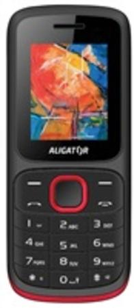 Mobilní telefon Aligator D210 Dual SIM - červený