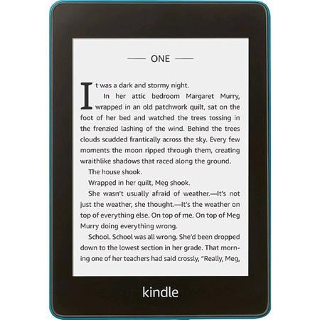 "E-book AMAZON KINDLE PAPERWHITE 4 2018, 6"" 8GB E-ink displej, WIFi, BLUE, SPONZOROVANÁ VERZE ,"