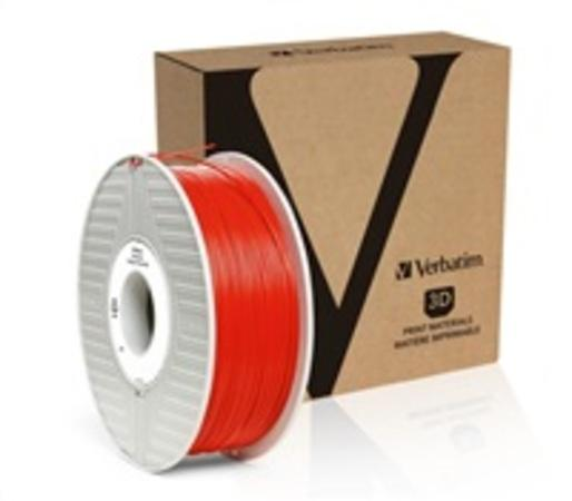 VERBATIM 3D Printer Filament PLA 1,75mm 1kg red (OLD PN 55270), 55320