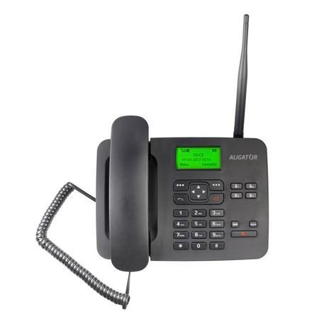Aligator T100 (stolní telefon) Black, MTOSOOT100051