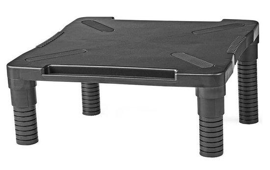 NEDIS ergonomický stojan na monitor/ nastavitelný/ černý