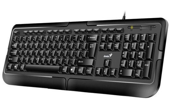 GENIUS klávesnice KB-118/ Drátová/ USB/ černá/ CZ+SK layout, 31300010403