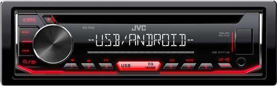 JVC KD-T402 AUTORÁDIO S CD/MP3/USB
