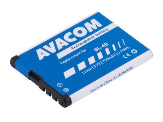 Baterie AVACOM GSNO-BL4B-S750 750mAh - neoriginální