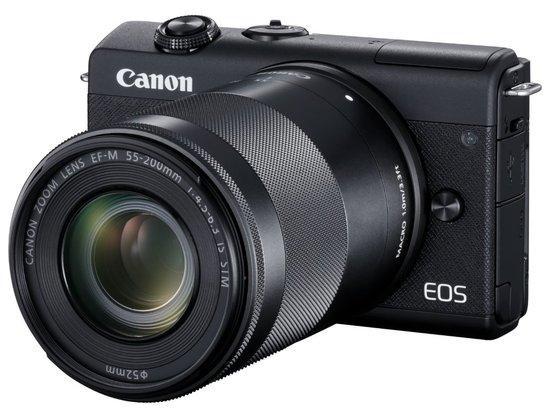 Canon EOS M200 Black + EF-M 15-45mm + EF-M 55-200