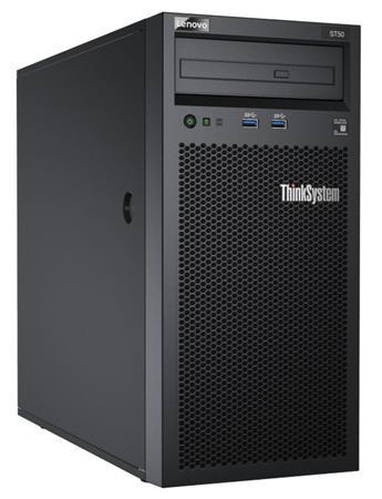 """Lenovo ST50 Xeon E-2144G 4+2C 71W 3.6GHz/1x8GB/2x1TB SATA NHS 3,5""""(4)/SW RAID/DVD-RW/AMT/250W fixed, 7Y48A02CEA"""