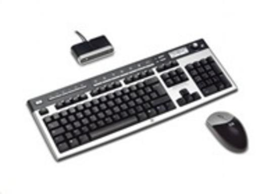 HP USB BFR with PVC Free CZ Keyboard/Mouse Kit, 672097-223