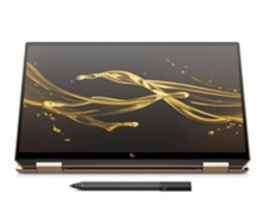 "Ntb HP Spectre x360 13-aw0103nc i7-1065G7, 16GB, 512 + 32 GB, 13.3"", Full HD, bez mechaniky, Intel Iris Plus Graphics, BT, CAM, W10 Home + dotykové pero - černý, 8UJ59EA#BCM"