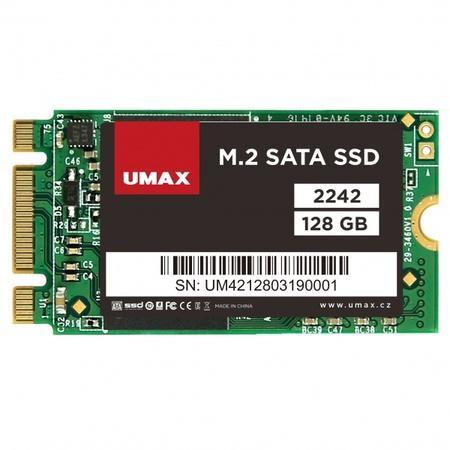UMAX SSD 128GB/ interní/ M.2/ 2242/ SATAIII/ 3D TLC