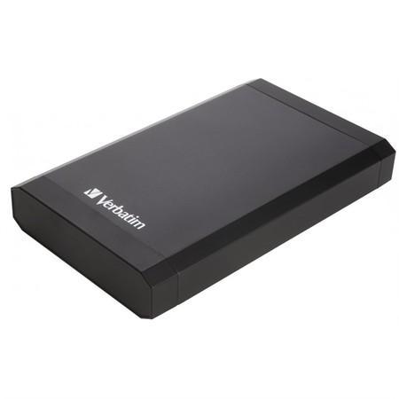 "Box na HDD Verbatim pro 3,5"" HDD SATA, USB 3.0 - černý"