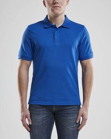 Triko CRAFT Casual Polo Pique M modrá