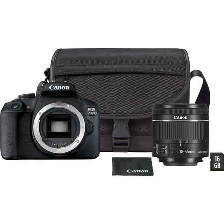 Zrcadlovka Canon EOS 2000D + 18-55 DC + VUK