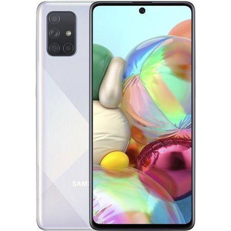 Samsung Galaxy A71 Dual SIM stříbrný