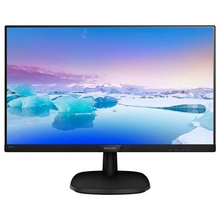 Monitor Philips 243V7QSB/00 24``, panel-IPS; FullHD; D-Sub, DVI, 243V7QSB/00