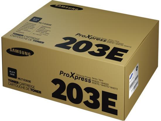 HP/Samsung MLT-D203E/ELS Black Toner 10000 stran, SU885A