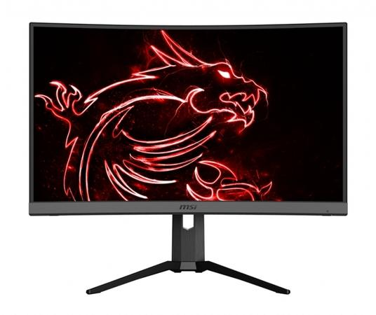 "MSI Gaming monitor Optix MAG272CQR, 27"" zakřivený /2560 x 1440 WQHD/VA LED, 165Hz/1ms/3000:1/300cd / m2/2x HDMI/DP/3xUSB, Optix MAG272CQR"