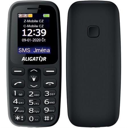 Mobilní telefon Aligator A220 Senior Dual SIM - černý