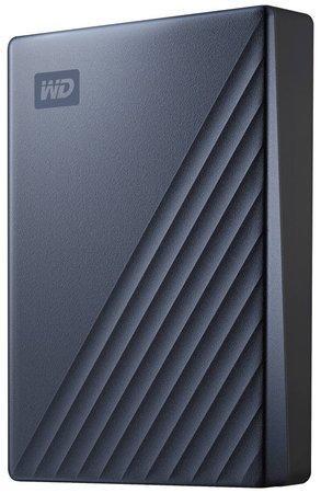 """WD My Passport ULTRA 5TB Ext. 2.5"""" USB3.1 Blue USB-C, WDBFTM0050BBL-WESN"""