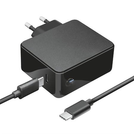 Napájecí adaptér Trust pro notebooky Apple Macbook Maxo 61W USB-C PD,