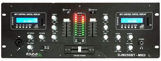 Ibiza sound DJM250BT-MKII
