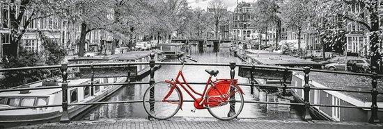 CLEMENTONI Panoramatické puzzle Amsterdam 1000 dílků