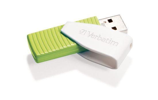 VERBATIM USB FD 32GB Swivel Green