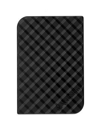 "VERBATIM HDD 2.5"" 5TB Store `n` Go Portable Hard Drive USB 3.0, Black"