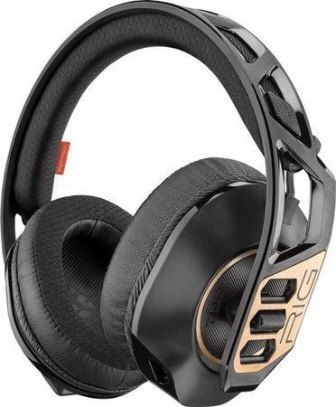 Plantronics RIG 700HD, bezdrátová herní sluchátka s mikrofonem, pro PC, černá
