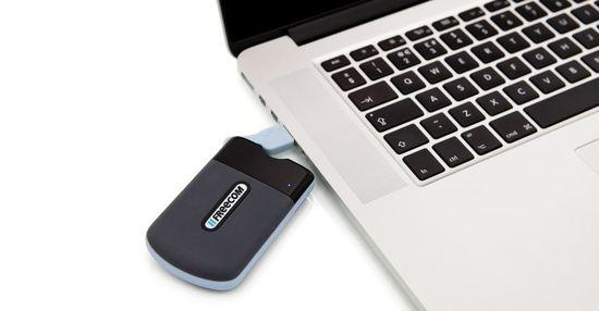 "SSD disk 2.5"" Freecom Tough Drive mini 128GB USB 3.0 SATA, tmavě šedý"