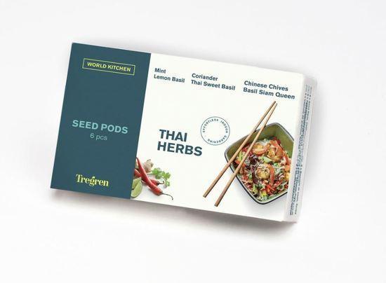 TREGREN Thajské bylinky (kapsle se semeny, 6 ks)