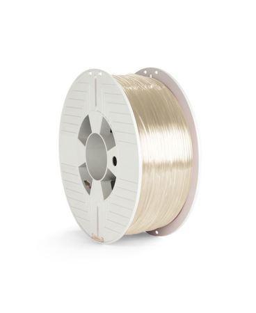 VERBATIM 3D Printer Filament PET-G 1.75mm 1000g transparent, 55051