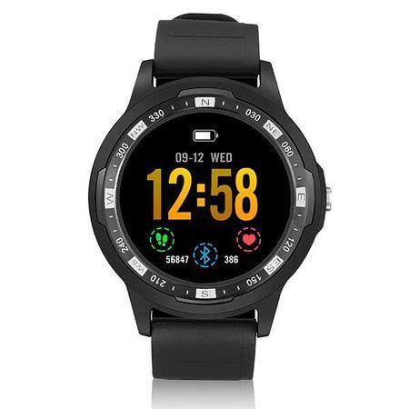 Technaxx Smartwatch s měřením tepové frekvence, BT, GPS (TX-SW3HR)