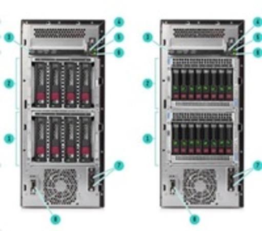 HPE ML110 Gen10 3204 1P 16G 4LFF EU Svr, P10811-421