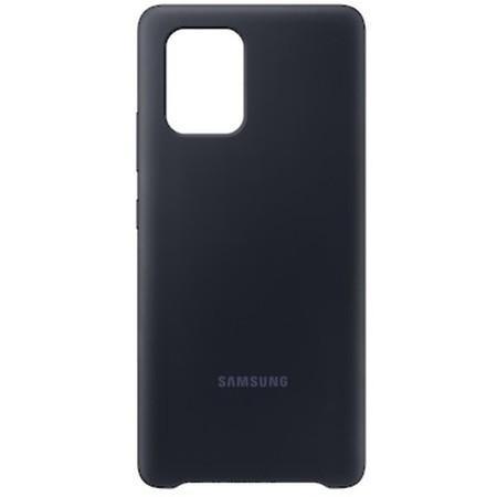 Kryt na mobil Samsung Silicon Cover pro Galaxy S10 Lite - černý