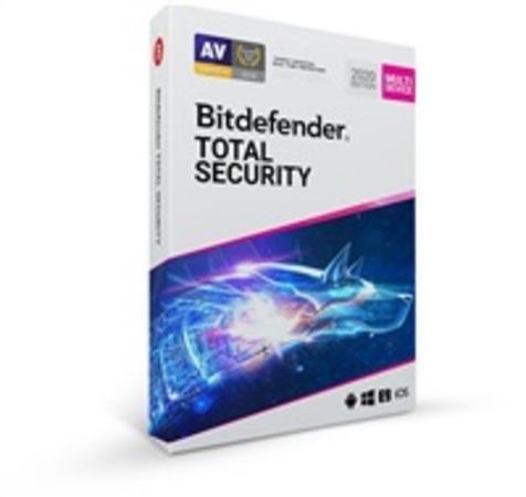 Bitdefender Total Security 2020 - 10 zařízení na 1 rok - BOX
