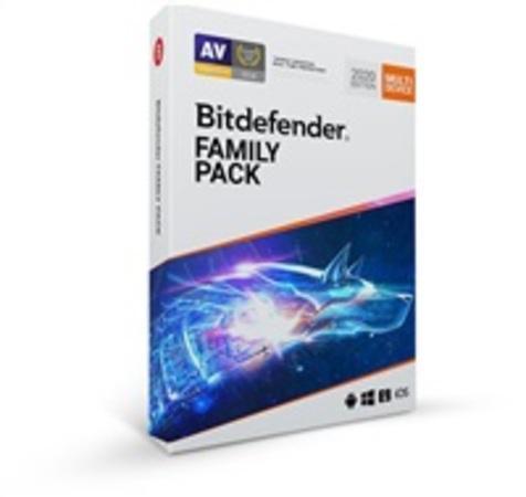 Bitdefender Family pack 2020 - 15 zařízení na 1 rok- BOX