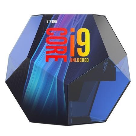 INTEL cpu CORE i9-9900 1151v2 Coffee Lake BOX 65W 9.generace (3.1GHz turbo 5.0GHz, 8x jádro, 16x vlákno, 16MB cache, pro DDR4 do 2666, vga HD630, virtualizace, BX80684I99900