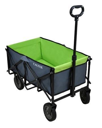 CALTER přepravní skládací vozík zelená
