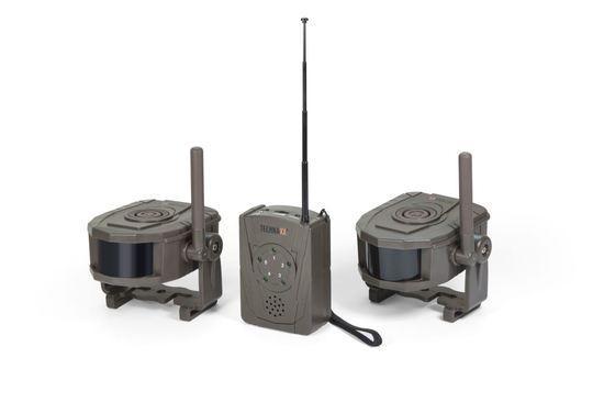 Technaxx bezdrátový bezpečnostní Alarm set, Přijímač a 2x pohybový sensor (TX-104), 4750