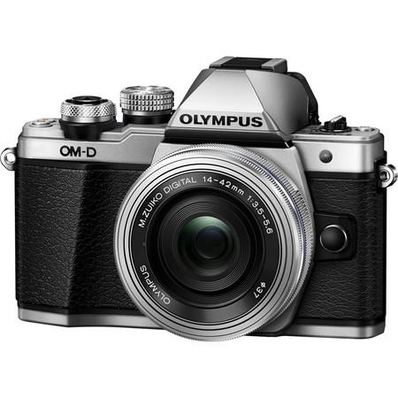 Olympus E-M10 Mark II 1442 EZ kit silver/silver