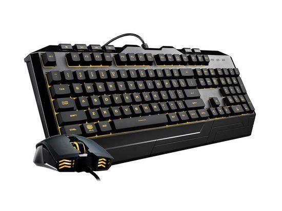 Cooler Master Devastator III, herní set klávesnice a myši, 7 barev LED, CZ lokalizace, černá, SGB-3000-KKMF1-CZ