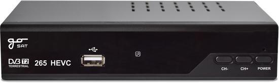 GOSAT GS220T2 H.265 USB PVR PŘIJÍMAČ