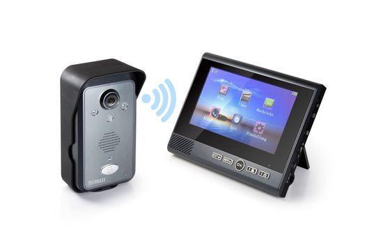 """Technaxx bezdrátový video zvonek s kamerou včetně LCD monitoru 7"""" (TX-59+), 4770"""
